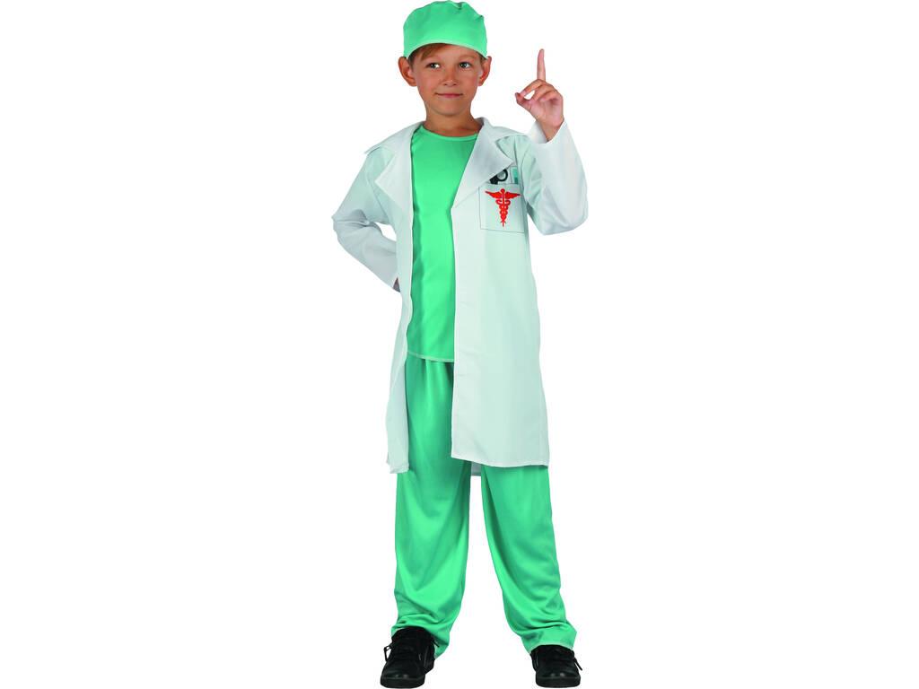 Disfarce Doutor Menino Tamanho XL