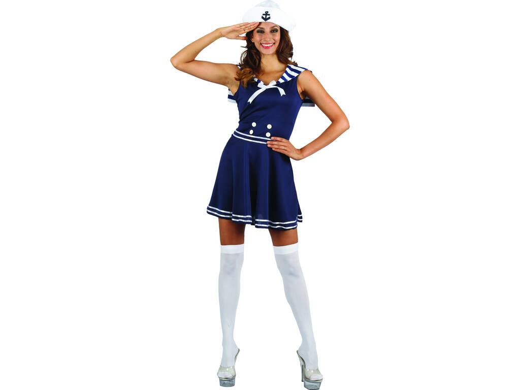 Disfarce Marinheira Mulher Tamanho L