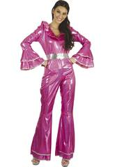 Disfraz Disco Mujer Talla S
