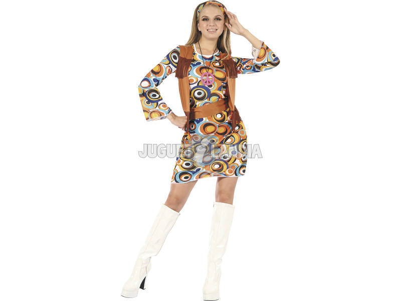 Costume Hippie Donna L