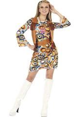 imagen Disfraz Hippie Mujer Talla L