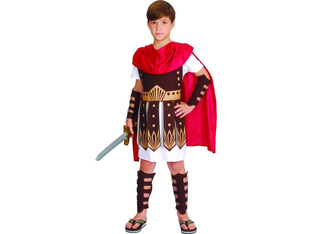 Disfarce Gladiador Menino Tamanho S