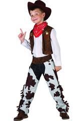 imagen Disfraz Vaquero Niño Talla L