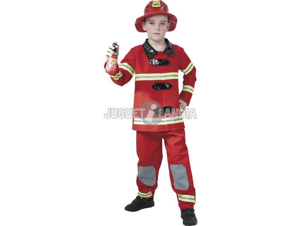 Disfraz Bombero Niño Talla L