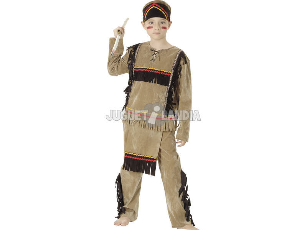 Disfarce Índio Menino Tamanho M
