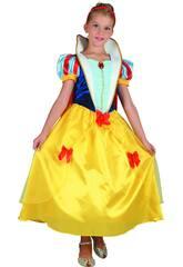 imagen Disfraz Princesa de las Nieves Niña Talla M