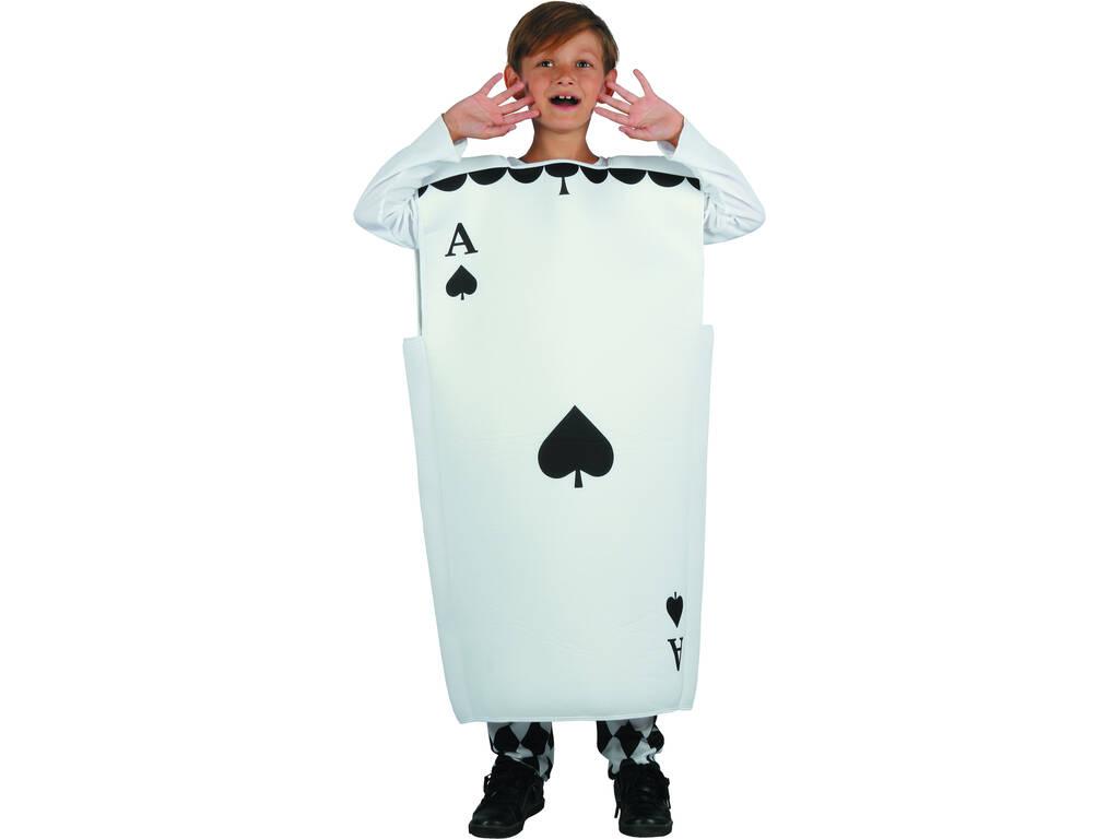 Disfraz As de Picas Niño Talla XL