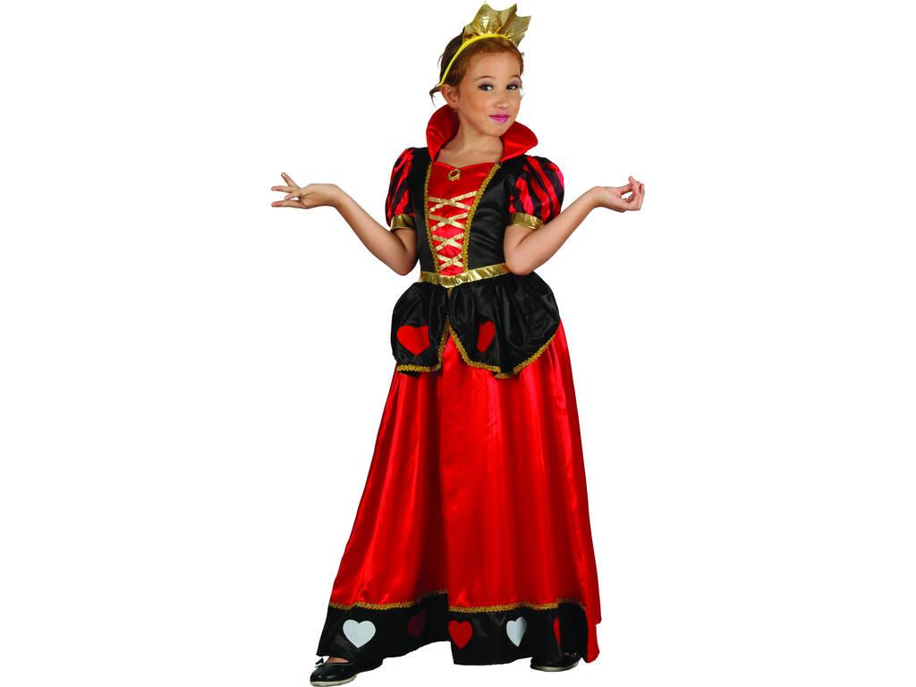 Costume Regina dei Cuori Bambina S