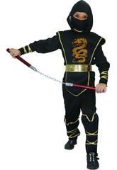 Disfraz Ninja Niño Talla M