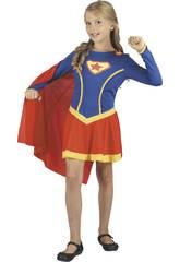 imagen Disfraz Superheroina Niña Talla M