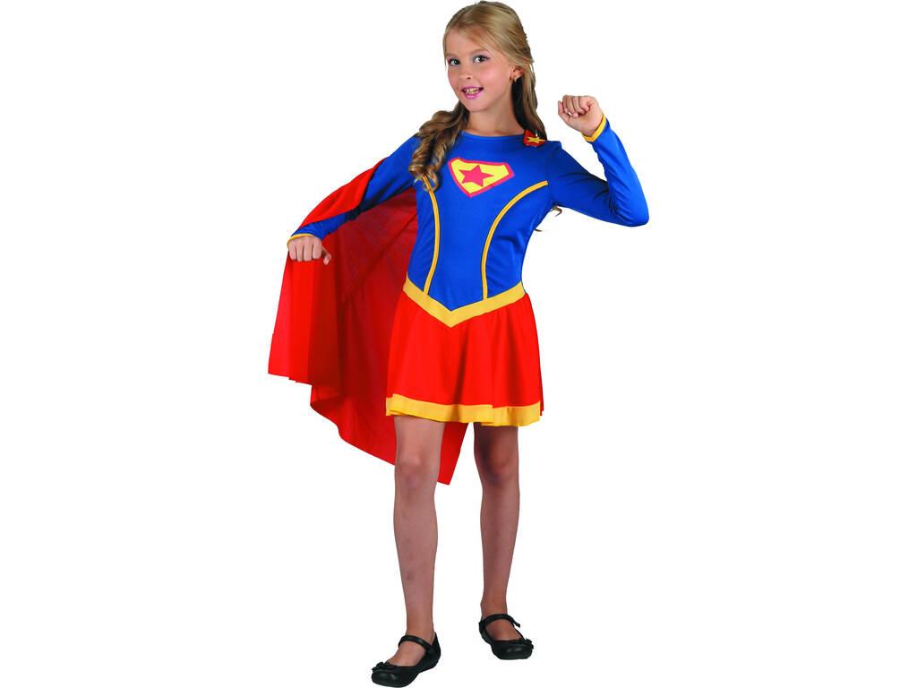 Disfraz Superheroina Niña Talla L