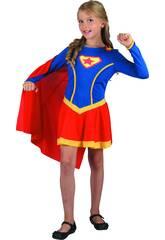 imagen Disfraz Superheroina Niña Talla L