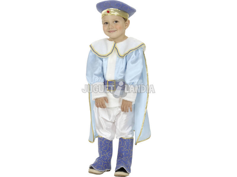 Disfraz Príncipe Bebé Talla S