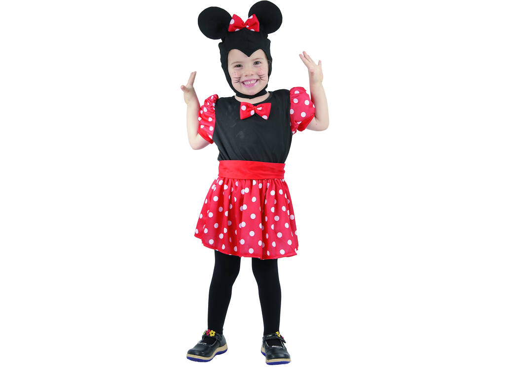 Costume Topolina Bambina Taglia S
