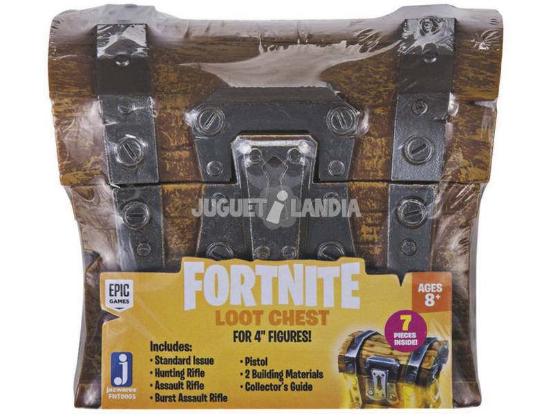 Fortnite Cofre Loot Chest 7.5 cm