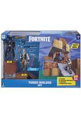 Fortnite Set Turbo Builder avec 2 Figurines, Matériaux, Armes et Pics