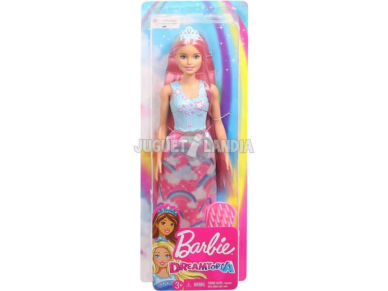 Barbie Penteados Dreamtopía Loira Mattel FXR94