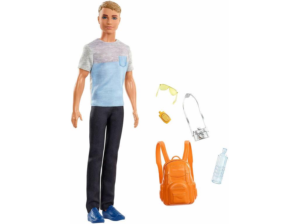 Barbie Ken in Viaggio Mattel FWV15