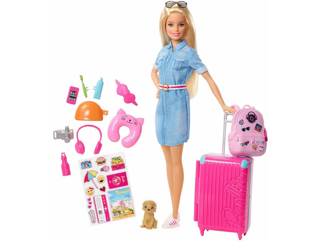 Barbie Vamos De Viaje Mattel FWV25