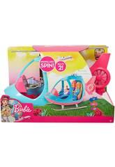 Barbie Helicóptero Dois Assentos Mattel FWY23