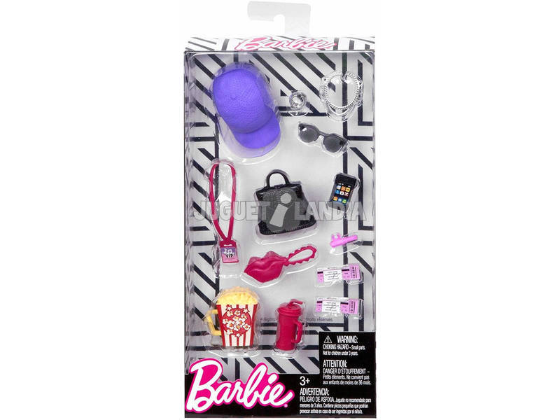 Barbie Accessori alla Moda Mattel FND48