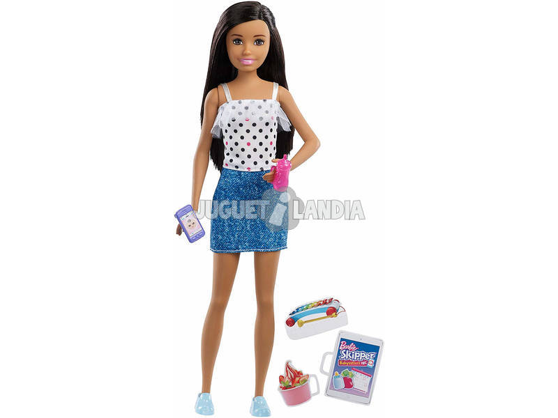 Barbie Skipper Babysitter Set con Accessori Mattel FHY89