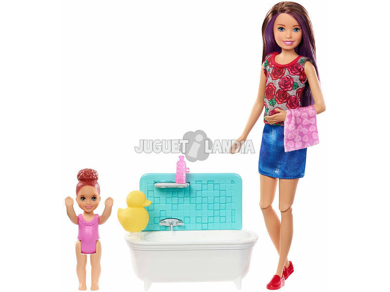 Barbie Skipper Babysitters Canguro De Bebés Mattel FHY97