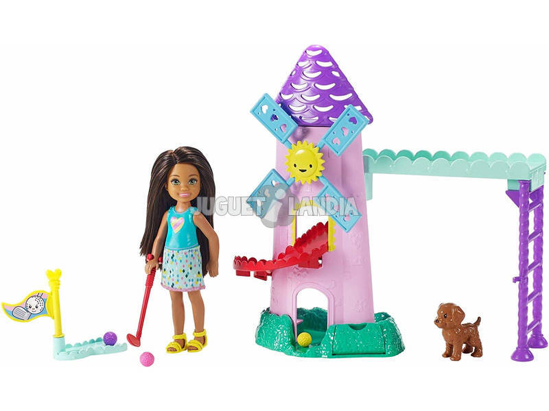 Barbie Chelsea Mini Golf Mattel FRL85