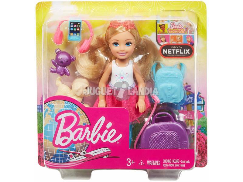 Barbie Chelsea Vamos De Viaje Mattel FWV20