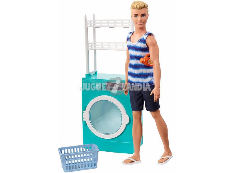Barbie Poupée Ken et Mobilier Mattel FYK51