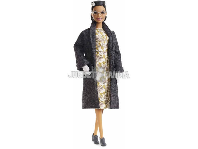 Barbie Collezione Donne Ispiratrici Rosa Parks Mattel FXD76