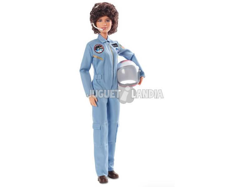 Barbie Coleção Mulheres Inspiradoras Sally Ride Mattel FXD77