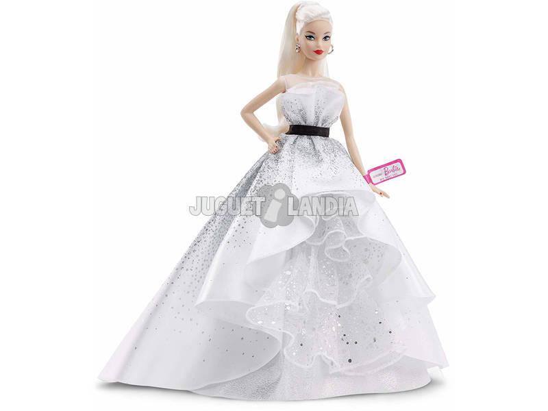 Barbie Colección 60 Aniversario Rubia Mattel FXD88