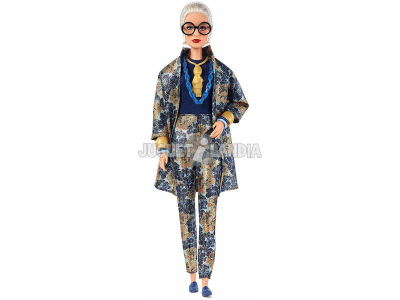 Barbie Colección Styled By Iris Apfel Mattel FWJ28