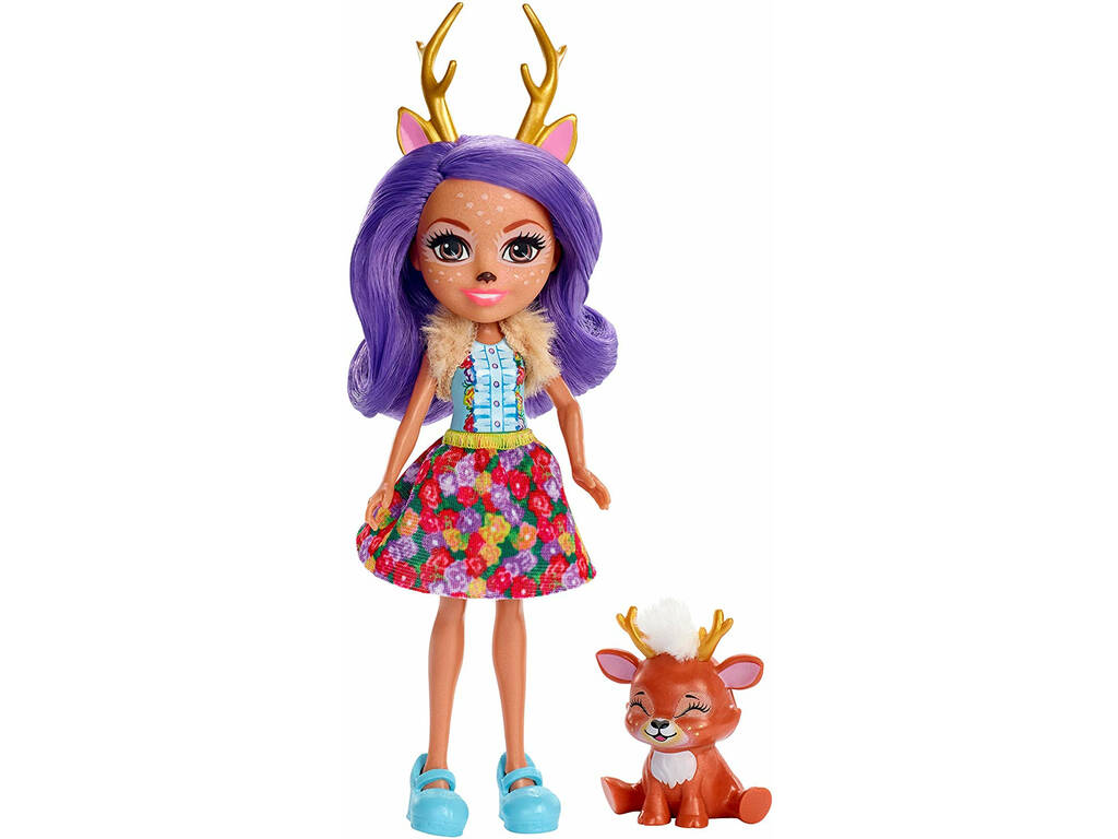 Enchantimals Danessa Deer y Sprint Mattel FXM75