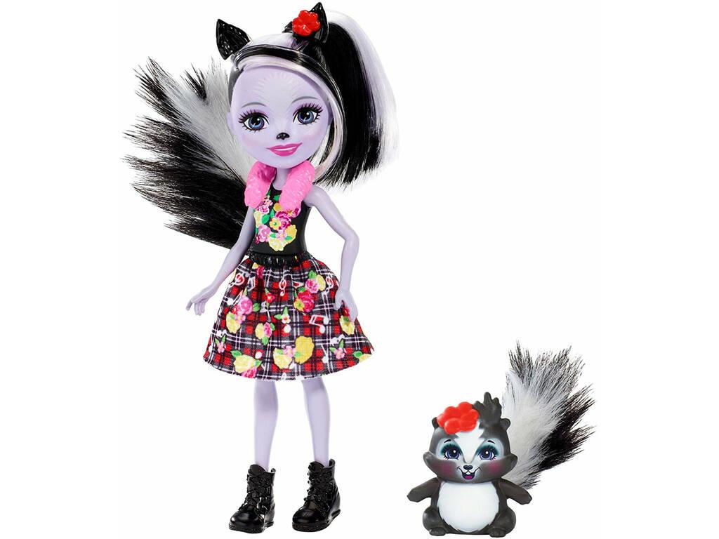 Enchantimals Sage La Puzzola con Caper Amico Cucciolo Mattel FXM72