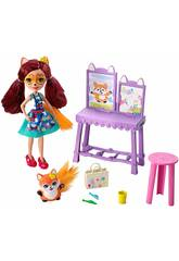 Enchantimals Lass Uns Malen Kunststudio Mattel GBX03
