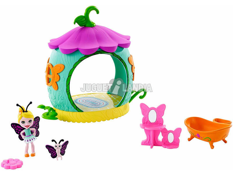 Enchantimals Minibaño de Baxi Butterfly Mattel FXM97