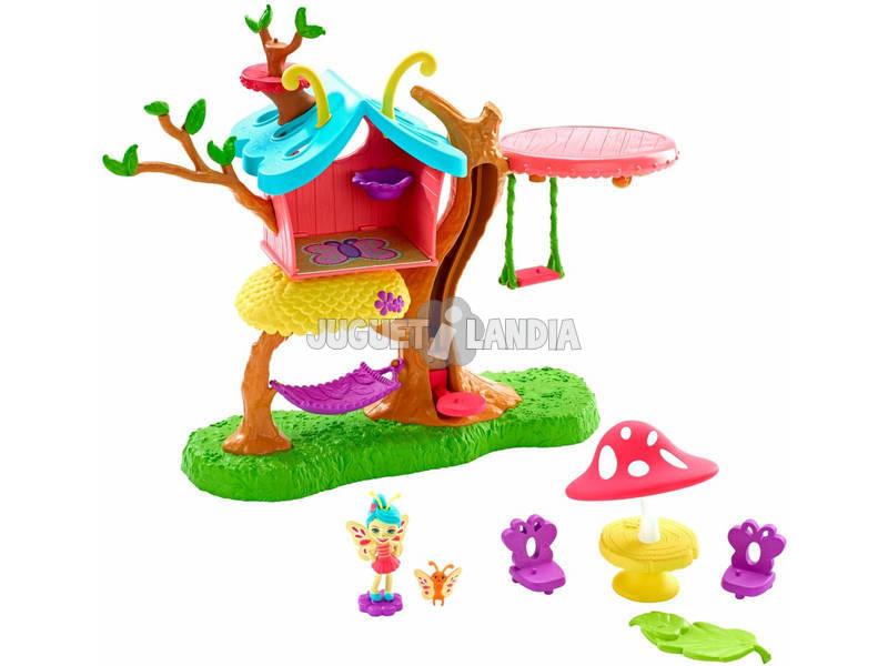 Enchantimals Casita del Árbol de Baxi Butterfly Mattel GBX08