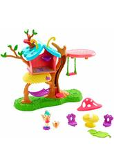 Enchantimals Casita del Árbol de Baxi Butterfly Mattel GBX08