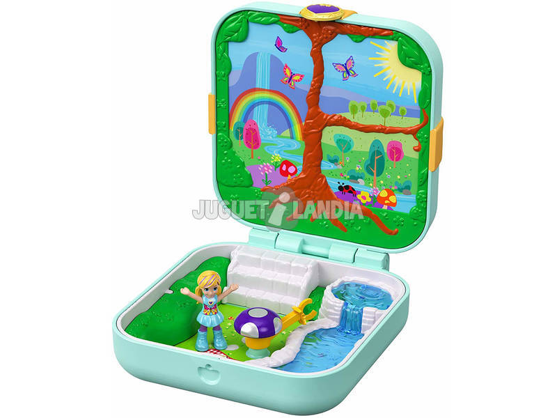 Polly Pocket Mundo Surpresa Floresta Mágica Mattel GDK79