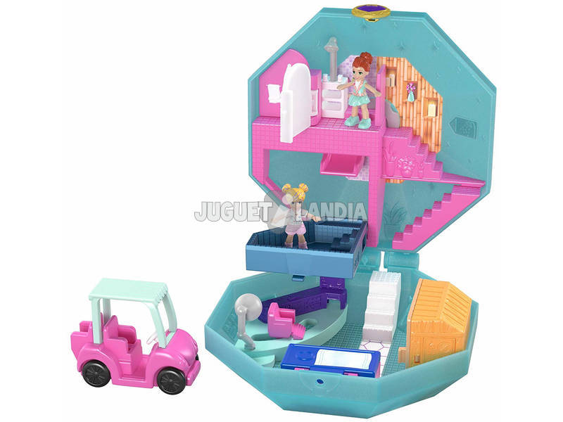 Polly Pocket Cofre Perfume Spa Mattel GDK81