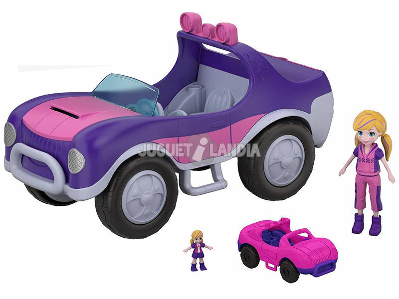 Polly Pocket Coche Misión Secreta Mattel FWY26