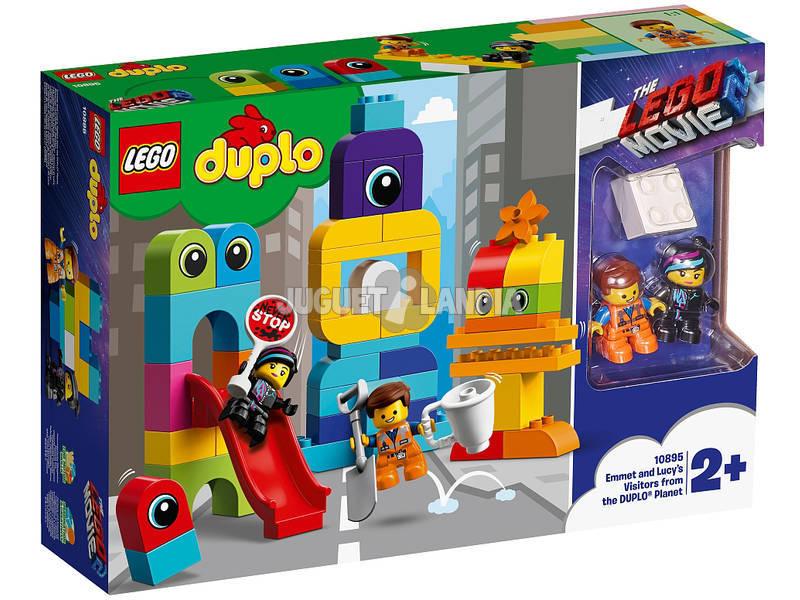 Lego Duplo Movie 2 Visitas de Emmet e Lucy desde o Planeta Duplo 10895