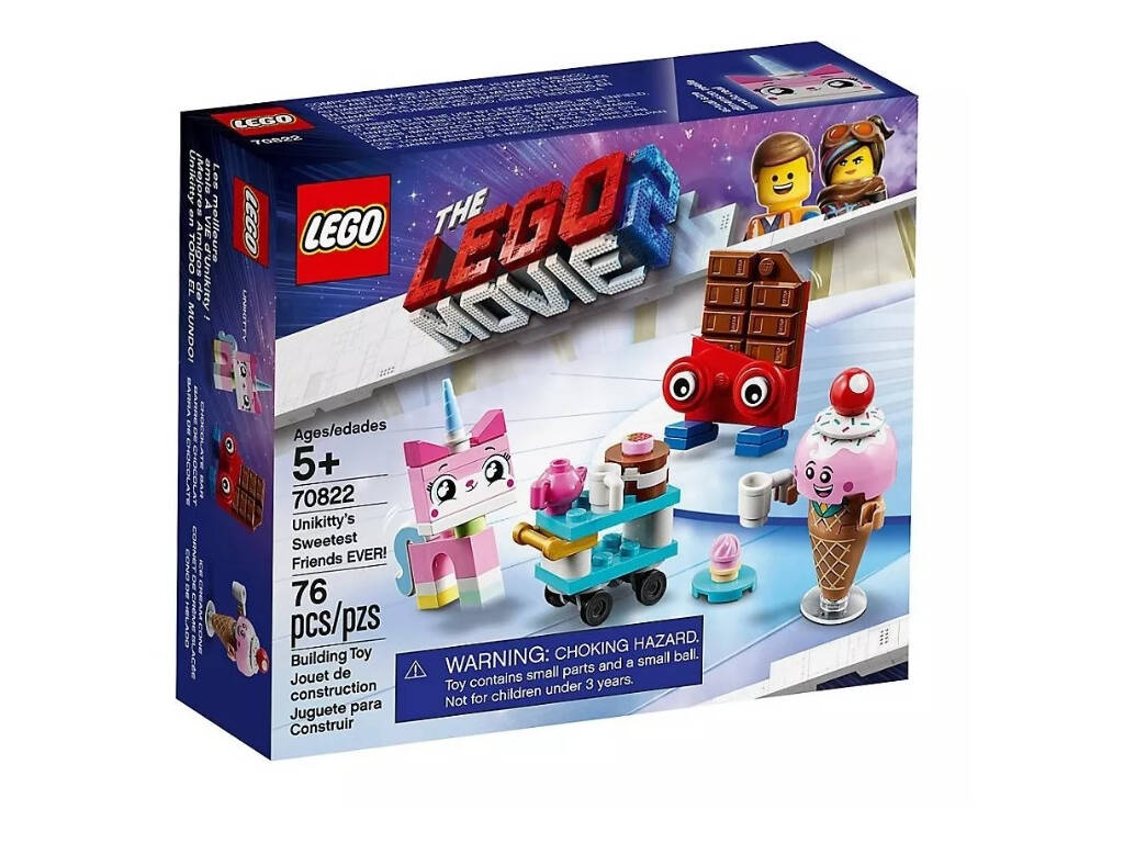 Lego Movie 2 Melhores Amigos de Unikitty em todo o Mundo 70822