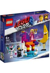 Lego Movie 2 Se Presenta la Reina Watevra Wa´Nabi 70824