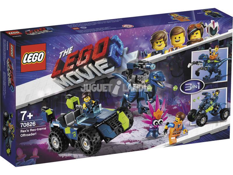 Lego Movie 2 Todoterreno Rextremo de Rex 70826