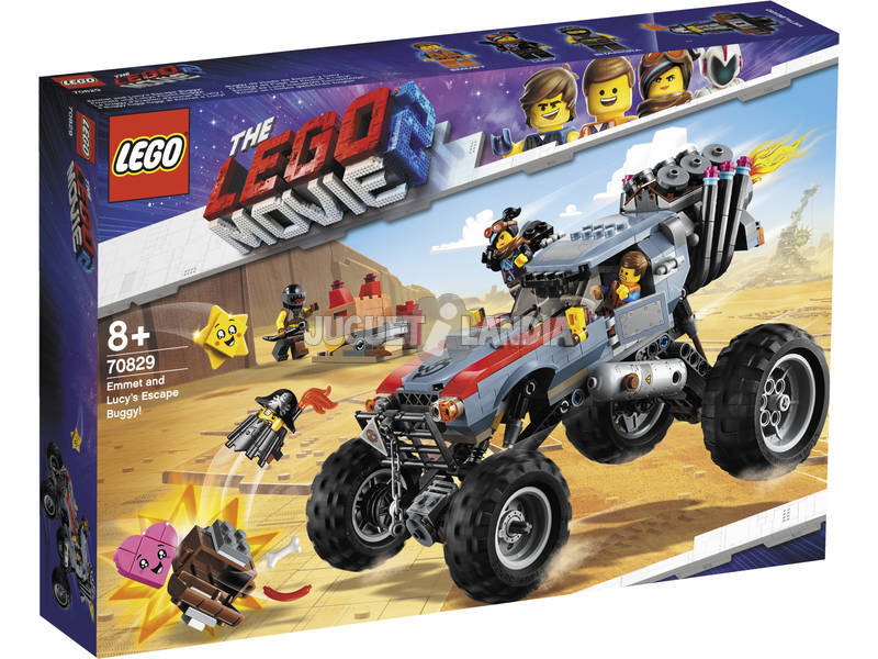 Lego Movie 2 Buggy de Fugida de Emmet e Lucy 70829