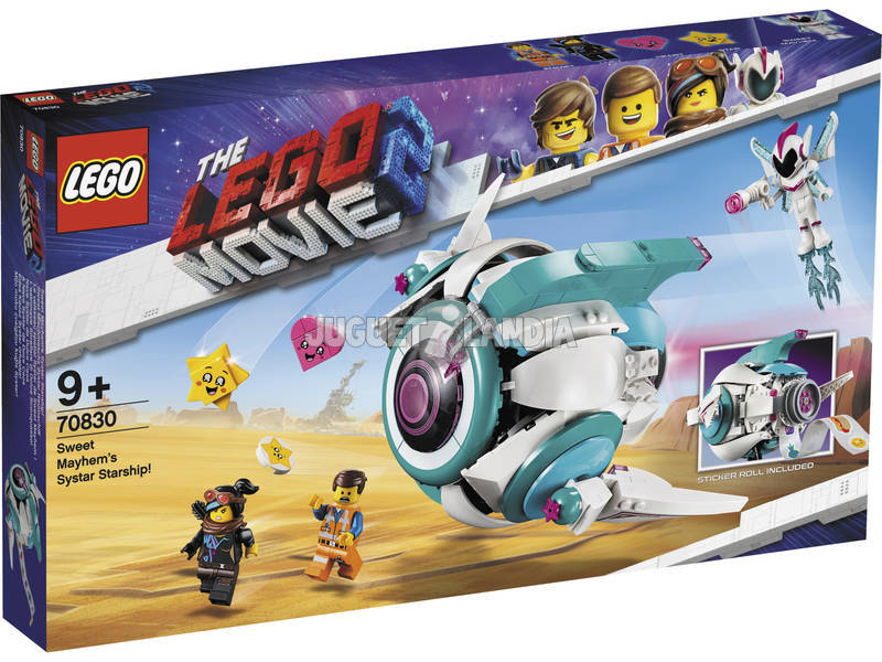 Lego Movie 2 nave Systar de Doce Caos 70830