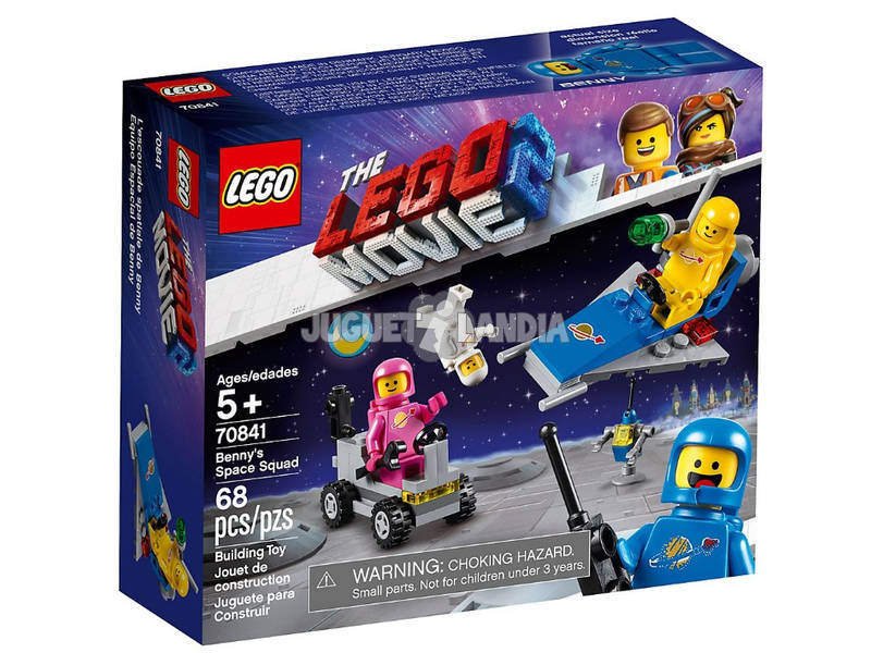 Lego Movie 2 Equipa Especial de Benny 70841